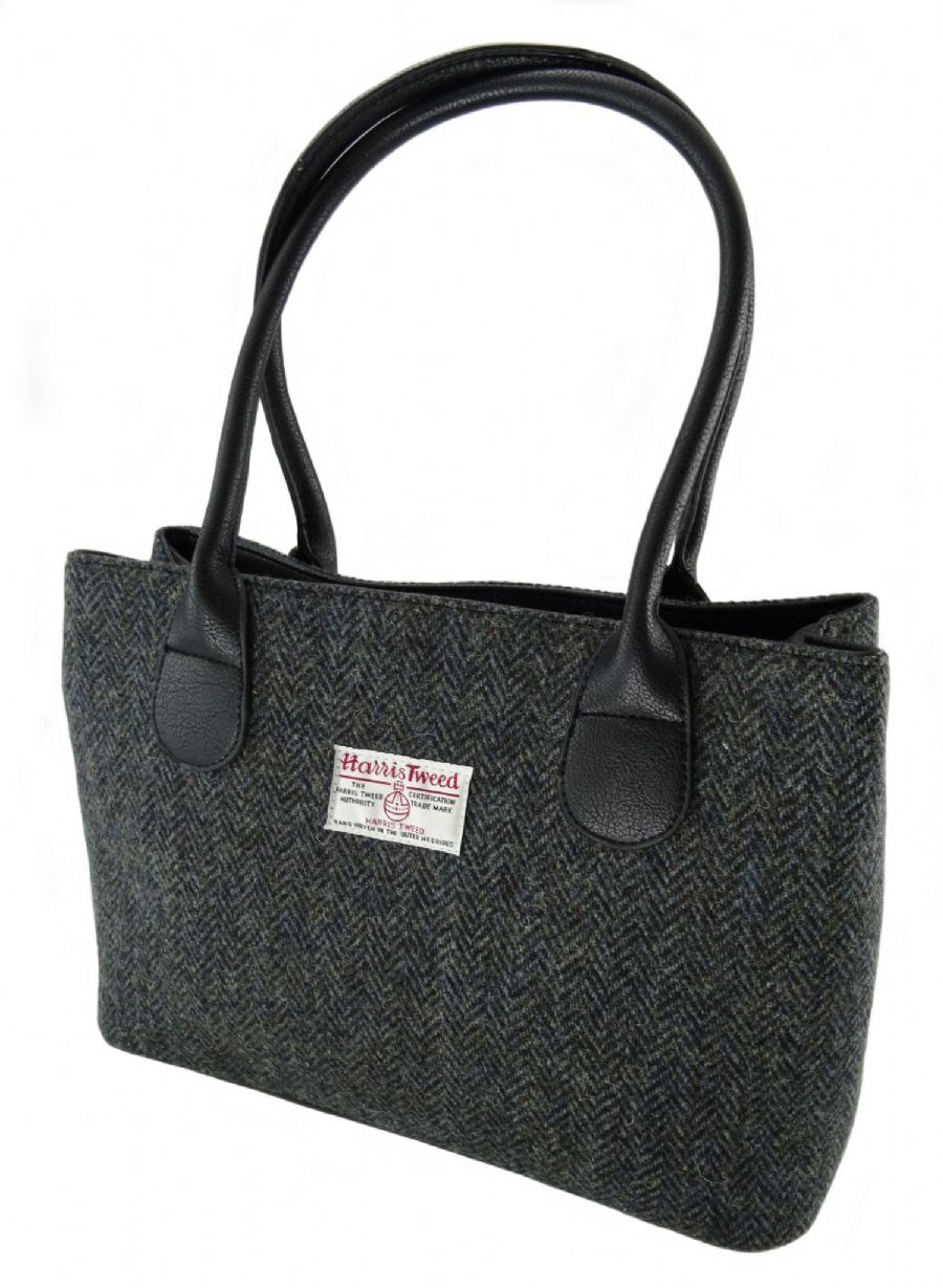 Harris Tweed Classic Handbag - Cassley - LB1003-COL1